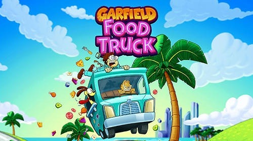 Garfield Food Truck Android Game Image 1
