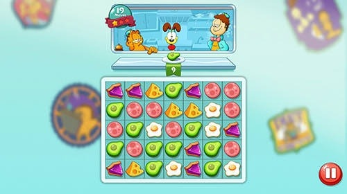 Garfield Food Truck Android Game Image 2