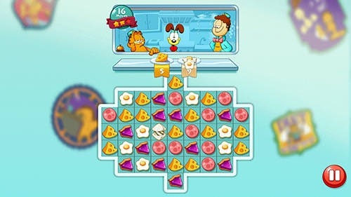 Garfield Food Truck Android Game Image 3