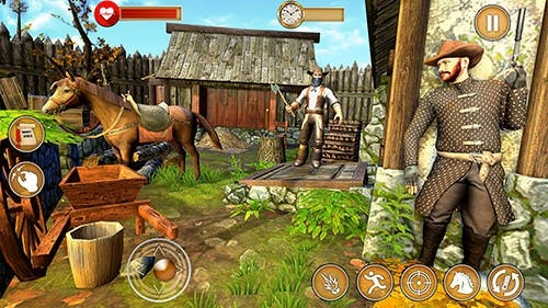 Western Cowboy Gun Shooting Fighter Open World Android Game Image 2