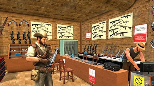 Western Cowboy Gun Shooting Fighter Open World Android Game Image 3