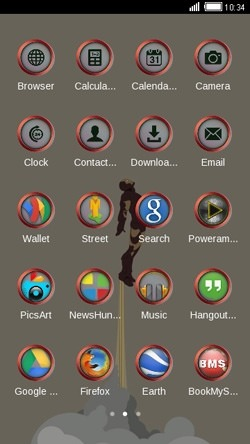 Iron Man CLauncher Android Theme Image 2