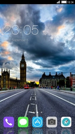 London CLauncher Android Theme Image 1