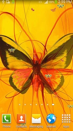 Butterfly Android Wallpaper Image 1