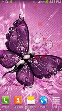 Butterfly Android Wallpaper Image 2