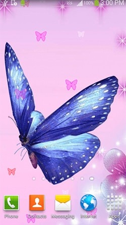 Butterfly Android Wallpaper Image 3
