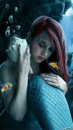 Mermaid Android Wallpaper Image 1