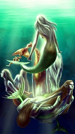 Mermaid Android Wallpaper Image 2