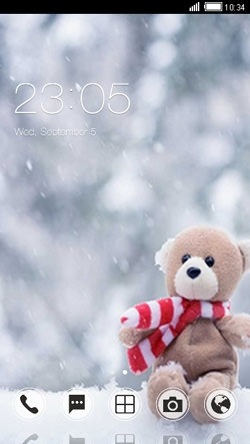 Teddy CLauncher Android Theme Image 1