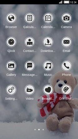 Teddy CLauncher Android Theme Image 2