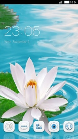 Lotus CLauncher Android Theme Image 1