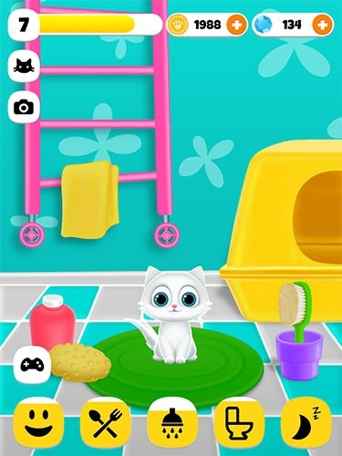 Paw Paw Cat Android Game Image 3