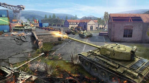Tank Combat: Team Force Android Game Image 3