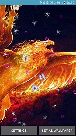 Phoenix Android Wallpaper Image 1