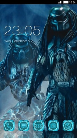 Predator CLauncher Android Theme Image 1
