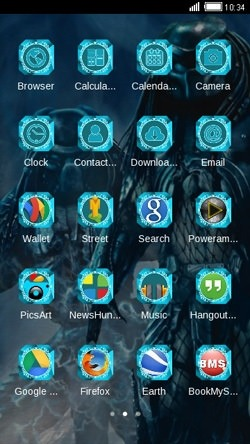 Predator CLauncher Android Theme Image 2