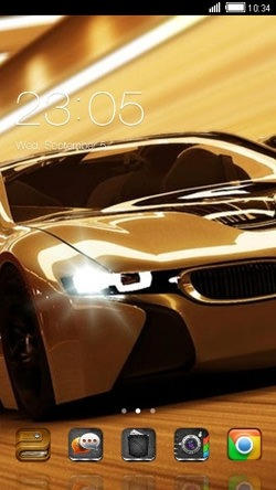 Sports Car CLauncher Android Theme Image 1