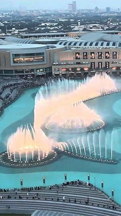 Dubai Fountain Android Wallpaper Image 3