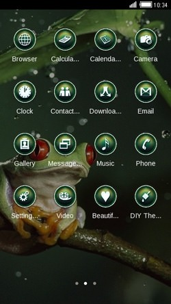 Frog CLauncher Android Theme Image 2