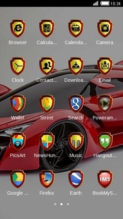 Lamborghini CLauncher Android Theme Image 2
