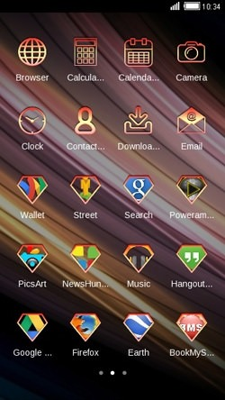Strips CLauncher Android Theme Image 2