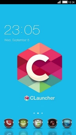 Custom CLauncher Android Theme Image 1