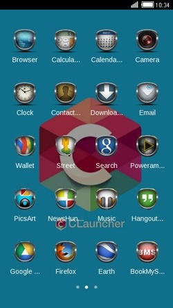 Custom CLauncher Android Theme Image 2