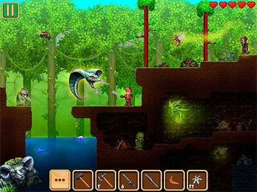 Adventaria: 2D World Of Craft And Mining Android Game Image 2