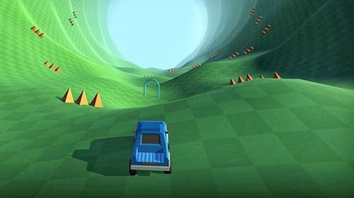 Lost Driver: Endless Tunnel Android Game Image 2