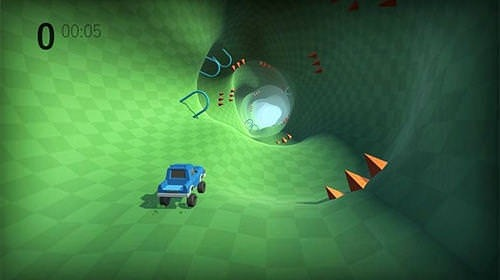 Lost Driver: Endless Tunnel Android Game Image 3