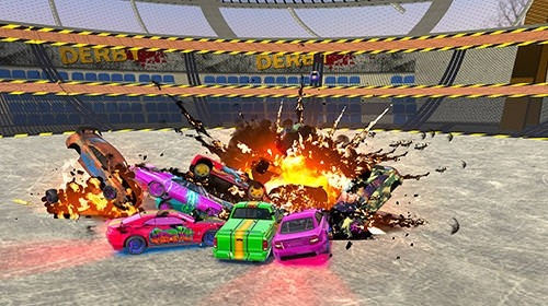 Ultimate Derby Online: Mad Demolition Multiplayer Android Game Image 3