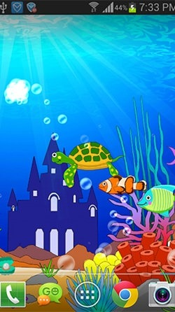 Aquarium: Undersea Android Wallpaper Image 1