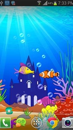 Aquarium: Undersea Android Wallpaper Image 2