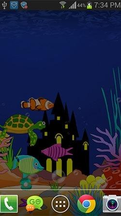 Aquarium: Undersea Android Wallpaper Image 3