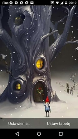 Magic Winter Android Wallpaper Image 1