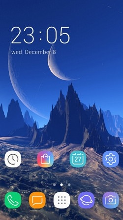 Mountain CLauncher Android Theme Image 1