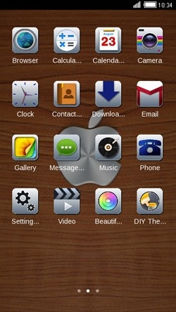 Apple CLauncher Android Theme Image 2