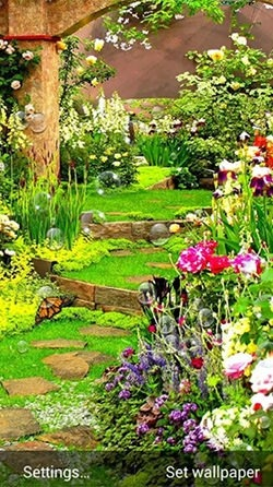 Garden Android Wallpaper Image 1