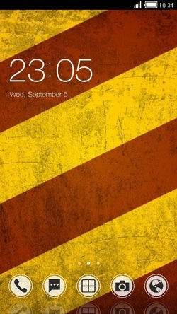 Rusty CLauncher Android Theme Image 1