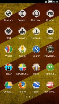 Rusty CLauncher Android Theme Image 2