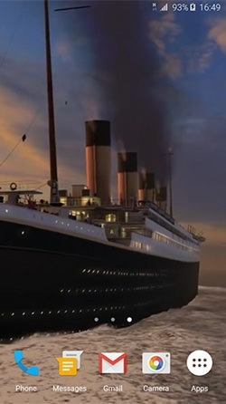Titanic 3D Android Wallpaper Image 3