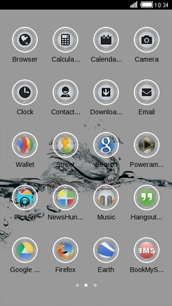 Crystal Swan CLauncher Android Theme Image 2