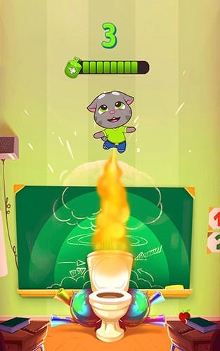 Talking Tom Farts Android Game Image 2