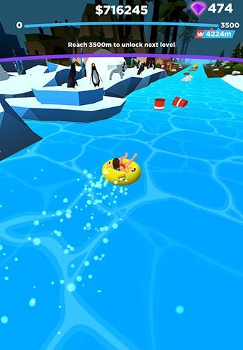 Uphill Rush: Slide Jump Android Game Image 2