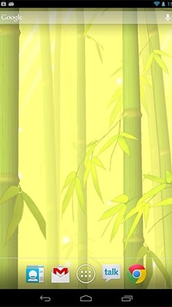 Bamboo Forest Android Wallpaper Image 2