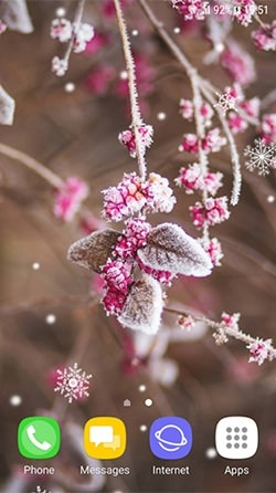 Beautiful Winter Android Wallpaper Image 2
