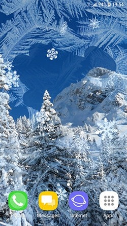 Beautiful Winter Android Wallpaper Image 3
