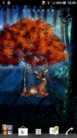 Magic Forest Android Wallpaper Image 2