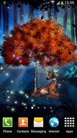 Magic Forest Android Wallpaper Image 3