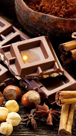 Chocolate And Coffee Android Wallpaper Image 2